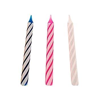Partygram - 10 Velas de Cumpleaños Mágicas, Rombos - Colores ...