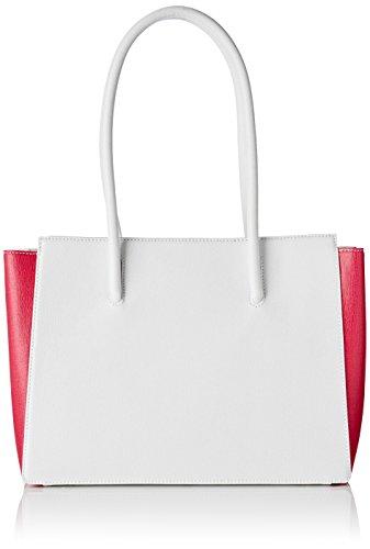 Arcadia Sandy, Borsa a Spalla Donna, 13x25x29 cm (W x H x L) Multicolore (Bianco Multi)