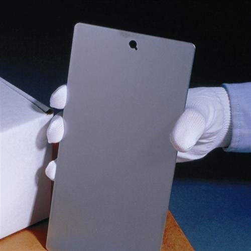(Blank Aluminum Sample Panels for Powder Coating and Paint 4 inch x 6 inch)