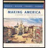 Download Making America - History of the United States, Volume I - To 1877 - Text Only (3rd, 03) by Berkin, Carol - Miller, Christopher L - Cherny, Robert W - Go [Paperback (2002)] ebook