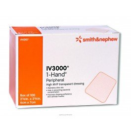 OpSite® IV 3000 Dressing-Size 4'' x 5 1/2'' - Box of 10