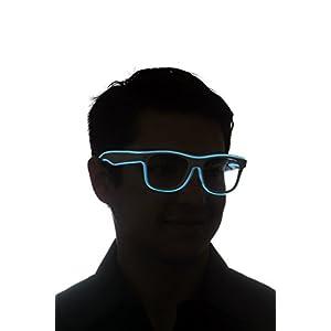 GlowCity Light Up Sunglasses-White