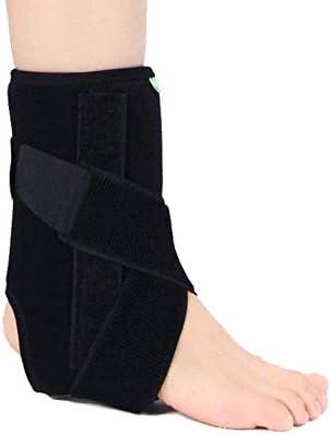 足首サポート ナイロン素材超弾性で快適なワンサイズはすべてにフィット、スポーツに最適、慢性的な足首のひずみから保護、捻挫疲労