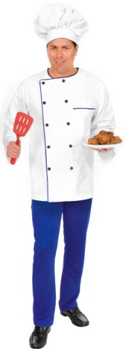 Adult's Chef Halloween Costume (Size: Large 42-44)
