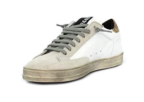 Sneaker P448 P448 A8JOHN Sneaker WHI A8JOHN WHI GOL GOL fqx1wESXnX