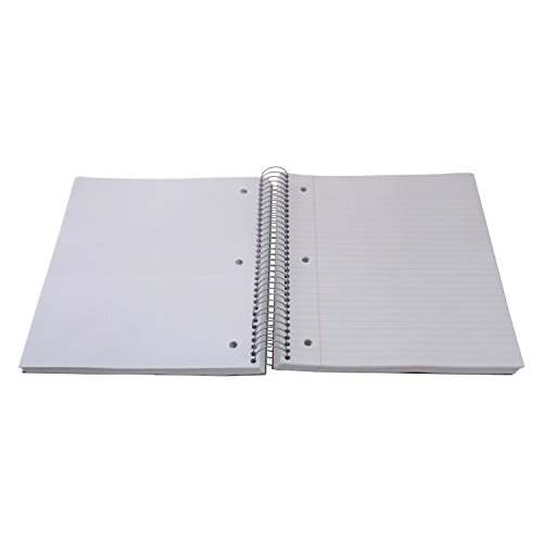 Five Star Spiral Notebook, 1 Subject, College Ruled Paper, 100 Sheets, 11'' x 8-1/2'' Sheet Size (Abstract Design 2) by Five Stars (Image #1)
