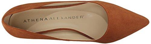 Athena Alexander Womens Teague Dress Pompa Tan Pelle Scamosciata