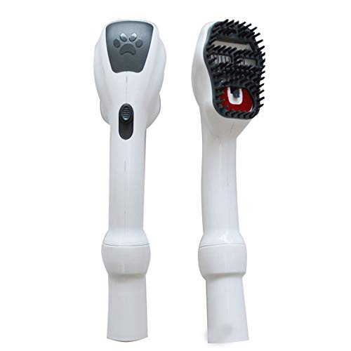 EZ SPARES Grooming Cleaning Tool,Dog Cat Animal Pet Attachment Massage Handheld Brush Electrostatic Absorption All 2 Sizes 32mm&35mm Universal Vacuum Cleaner Instruction Gift by EZ SPARES