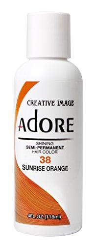 Adore Semi-Permanent Haircolor #038 Sunrise Orange 4 Ounce