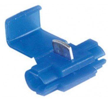 Imperial 71259 Quick-lock Connector, 18-14gauge, Blue,per Package Of 100