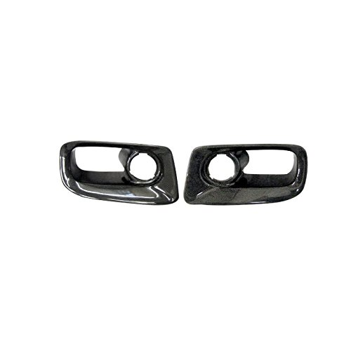 For NISSAN Skyline R33 GTR Border Carbon Fiber Front Bumper Side Vents Air Ducts Insert 2PCS
