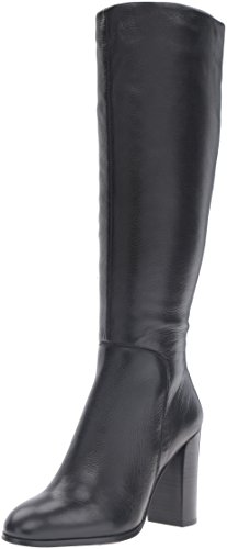 Kenneth Cole New York Women's Justin Engineer Boot, Black, 8.5 M US