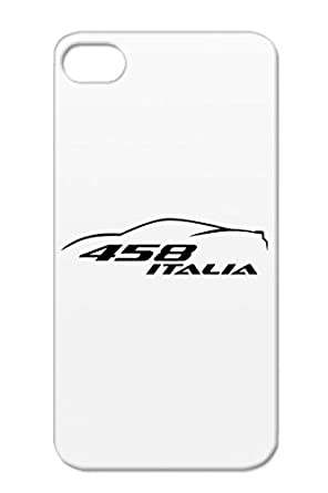 Ferrari 458 Outline Black For Iphone 4 Team Shmo Shmee150