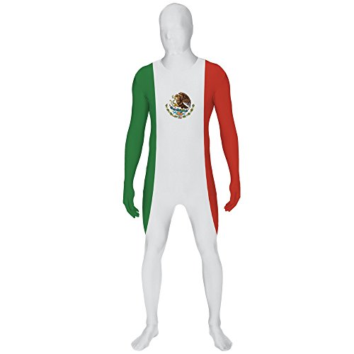 Morphsuits Men's Mexico Original Flag Fancy Dress Costume, X-Large