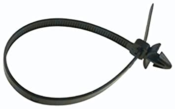 Amazon.com: 25 Push Mount Cable Tie For Imports 200mm Length ...