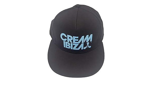 Crema Club Nocturno - Ibiza Logo - Oficial Gorra Béisbol - Azul ...