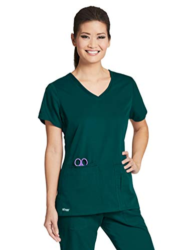 (Grey's Anatomy 41423 Top Hunter Green L)