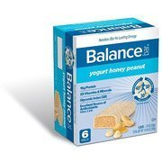Balance Gold Yogurt Honey Peanut Nutrition Energy Bar, 6 Count ()