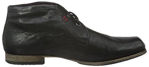 Think Guru, Zapatillas de Estar por Casa para Hombre Negro - Schwarz (Schwarz 00)