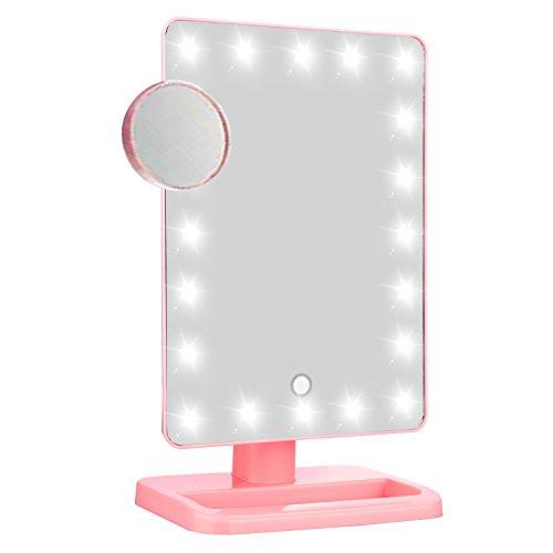 Lighted Makeup Mirror-LuckyBird Premium Illuminated & Por...