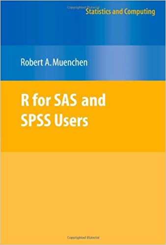 Sas r and pdf users for spss