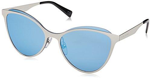 Marc Jacobs 198/s 0010 Palladium - Marc Sunglasses Jacobs Shield