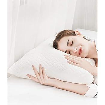 Amazon Com Shredded Memory Foam Pillows For Sleeping