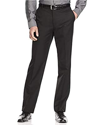 Calvin Klein Men's Slim Fit Dress Pants 36W x 32L Black