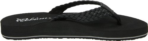 Bounce Braided Sandal Women's Black cobian vYwqHn