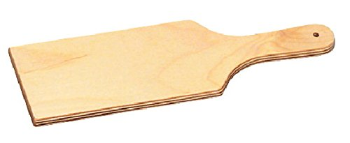 (School Specialty 444398 Birch Clay Paddle Tool, Wood, 12
