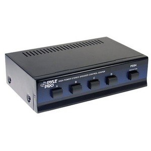 Pyle Pss4 Four Channel Speaker Selector . Speaker Compatible