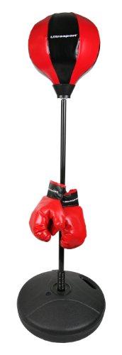 Ultrasport Kinder Punchingball mit Boxhandschuhen