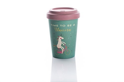 Coffe to go Becher Bamboo Cup (Time for Unicorns)
