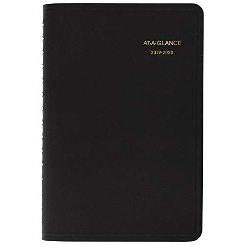 - AT-A-GLANCE 2019-2020 Academic Year Daily Planner/Appointment Book, Small, 5