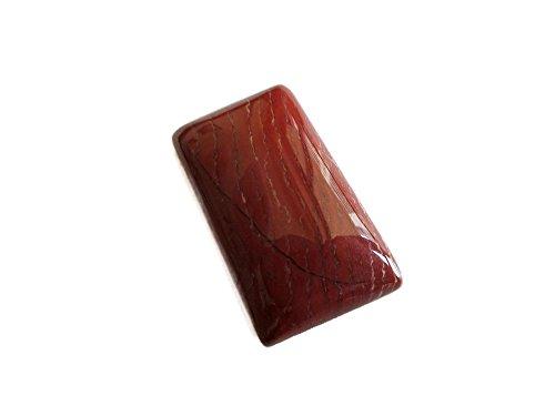 GemsDiamondsbySHIKHA 1 Pcs, Red Jasper Cabochon, Jasper Cabochon, Focal Pendant 31x18mm