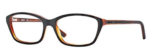 Donna Karan DY4658 Eyeglasses-3639 Black / Havana ()