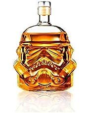Crystal Glass Star Wars Stormtrooper Decanter Red Wine Bottle Decanter Whiskey Bohemia Liqour Pourer Bar Vodka Beer Bottle Jar