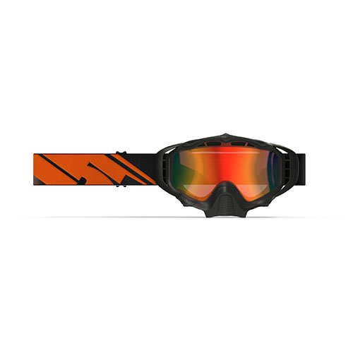 509 Sinister X5 Snow Goggles - Black Fire - Orange to Dark Blue Photochromatic by 509