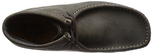 ClarksWallabee Boot - Stivali Classici Imbottiti a Gamba Corta Uomo Verde (Dark Green Lea) 100% Original cvNZXyCulp