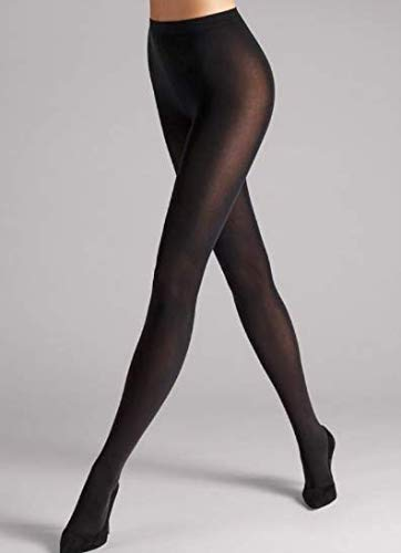 (Wolford Women's Velvet De Luxe 66 Tights Black Small)