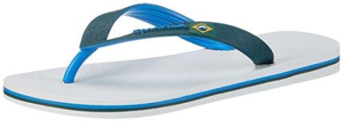 Ipanema Brazil Bicolor, Chanclas Unisex Adulto Mehrfarbig (white/blue/green)