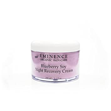 Eminence Organic Skincare. Blueberry Soy Night Recovery Cream Huiles & Baumes - Relaxing Gentle Dry Oil For The Body -100ml/3.38oz