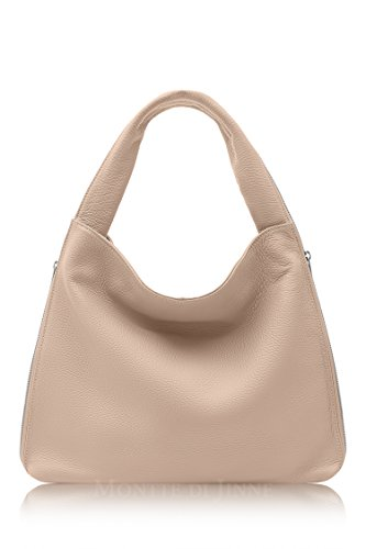 Italian Jinne Soft 100 Bag for Di Luxury Rose Smoke Women Leather Montte Gift Shoulder x65qIx