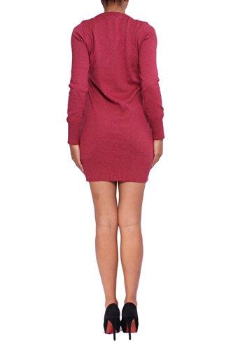 ANTA Q'ULQI knitted dress Red Women's qORrUW7q