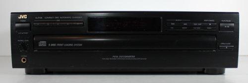 JVC XL-F108BK 5 Disc Compact Disc Automatic Changer CD Player