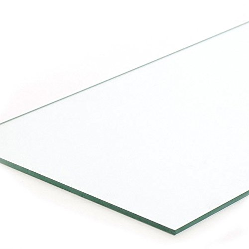 Case of 4 New Retails Plate Glass Shelf Measures 10''x34''x1/4'' thick by Plate Glass Shelf (Image #1)