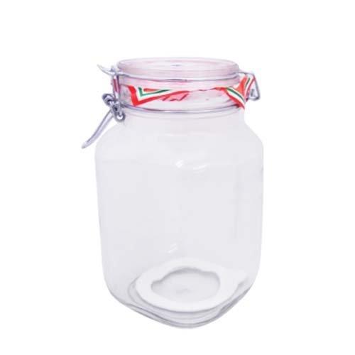 Bormioli Rocco Fido Glass Round Jar, 3 Liter by Bormioli Rocco