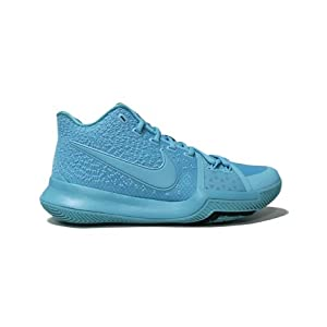 Nike Kyrie 3 Mens Basketball Shoes Aqua/Aqua-Black 852395-401 (10.5 D(M) US)