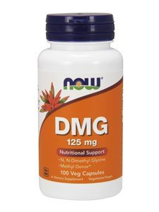 Now Foods DMG 125mg - 100 Caps pack of 2