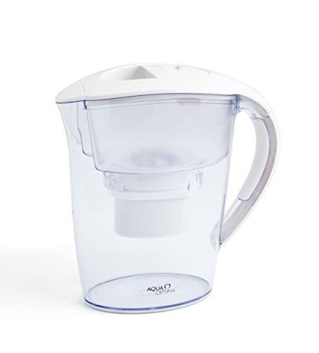Aqua Optima EJ0330 Minerva Tischwasserfilter mit 1 x 30-Tage Filter